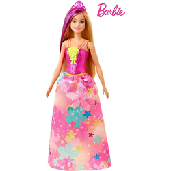 Barbie Dreamtopia Blonde Puppe mit lila Schloss