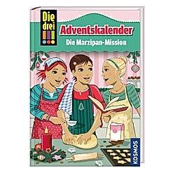 Die drei !!! Adventskalender - Die Marzipan-Mission. Maja Von Vogel  - Buch