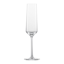 Zwiesel Glas Sektglas Pure (2-tlg), Glas, Made in Germany