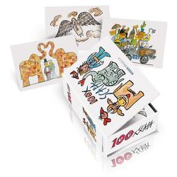 Postkartenbox 100 x Scapa