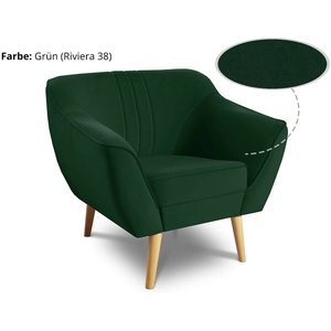 Sessel Luca - Couchhusse für Einsitzer Couchsessel oder Loungesessel