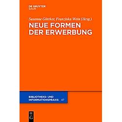 Neue Formen der Erwerbung - Buch