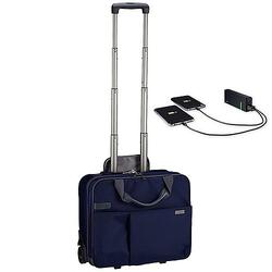 Leitz Complete Smart Traveller Handgepäcktrolley 42 cm inkl. Leitz Powerbank 5200mAh - Titan Blau