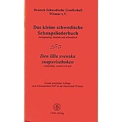 Das kleine schwedische Schnapsliederbuch; Den lilla svenska snapsviseboken - Buch