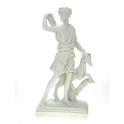Kremers Schatzkiste Dekofigur Alabaster Deko Figur Artemis Göttin der Jagd 22 cm