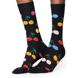 Happy Socks Socken Cherry mit buntem Kirschenmuster 36-40