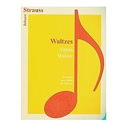 Walzer  für Klavier. Johann Jun. Strauß  - Buch
