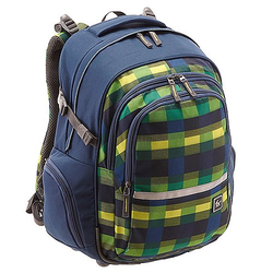 Hama Sportsline All Out Filby Rucksack 42 cm - summer check green