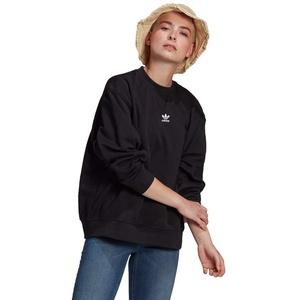 adidas Womens Sweatshirt Pullover, Black, 44