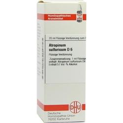 ATROPINUM SULF D 6