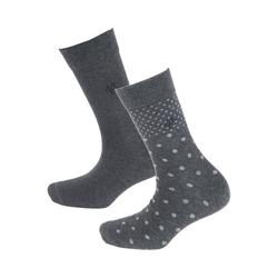 Marc O'Polo Socken Marla 2 Paar Socken grau 35-38