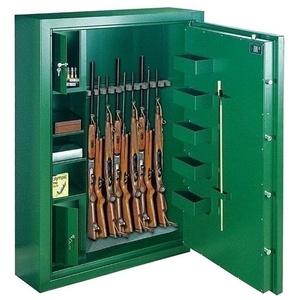 ROTTNER Waffenschrank SPORT N6 EL Premium, für bis zu 6 Langwaffen, mit 2 Innentresoren