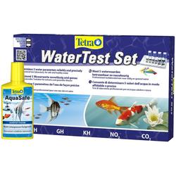 Tetra Aquariumpflege, Wasser Test Set inkl. Tetra AquaSafe 250ml