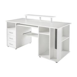 Schildmeyer Schreibtisch Baku weiß
