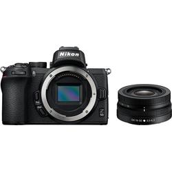 Nikon Z50 DX 16-50 mm 1:3.5-6.3 VR Systemkamera (DX 16-50mm 1:3.5-6.3 VR, 20,9 MP, WLAN (Wi-Fi), Bluetooth)