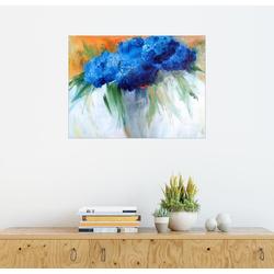 Posterlounge Wandbild, Hortensien Blumenstrauß 90 cm x 70 cm