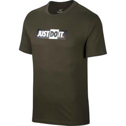 Nike NSW JDI Bumper T-Shirt Herren in sequoia, Größe M sequoia M