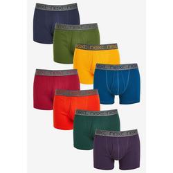 Next Slip Unterhosen aus reiner Baumwolle, 8er-Pack M