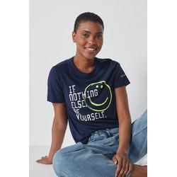 Next T-Shirt Parkinson's UK Charity T-Shirt blau 42