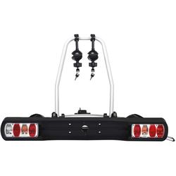 COSTWAY Fahrradträger Fahrradheckträger, 30kg Tragkraft, für 2 Fahrräder, für Reifenbreite: 20-90 mm
