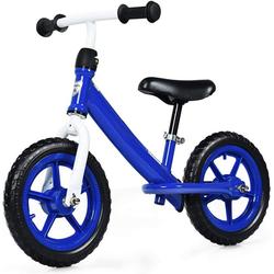 COSTWAY Laufrad Kinder Laufrad, mit verstellbarem Sitz, Balance Fahrrad ohne Pedale, Balance Bike, Kinderlaufrad, Lauflernrad für Kleinkinder und Kinder im Alter von 3 - 5 Jahren blau