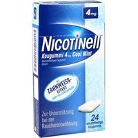 Nicotinell Cool Mint 4 mg Kaugummi 24 St.