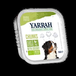 Yarrah BIO Bröckchen Huhn & Gemüse