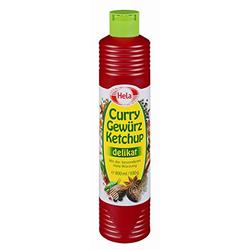 Hela Curry Gewürzketchup delikat lieblich würzige Note 800ml 6er Pack