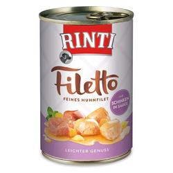 (5,69 EUR/kg) Rinti Filetto mit Huhn & Schinken in Sauce 420 g - 12 Stück