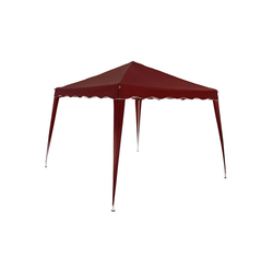 Deuba Pavillon Capri, Wasserdicht rot 300 cm x 300 cm x 250 cm