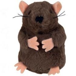 Trixie Muis/Mol met piep voor de kat  muis
