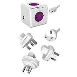 Allocacoc Steckdose PowerCube ReWirable USB