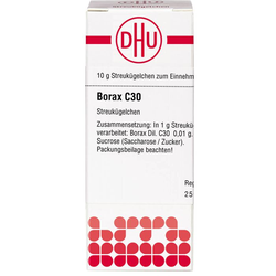 BORAX C 30 Globuli 10 g