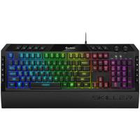 Sharkoon Skiller SGK5 Gaming Tastatur DE schwarz