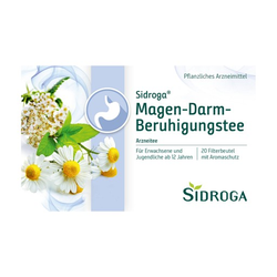 SIDROGA Magen-Darm-Beruhigungstee Filterbeutel 20X2.0 g