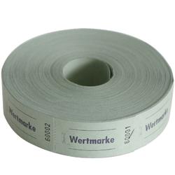 Avery Zweckform Geschirr-Set Wert-Marke 57x30mm 1000 Abrisse pro Rolle versch. (1000-tlg), Papier grün