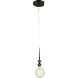 ECO-Light I-VINTAGE-PD I-VINTAGE-PD Pendelleuchte E27 Bronze, Braun