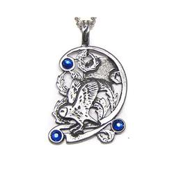 Adelia´s Amulett Fire & Ice Talisman, Eule - Für Weisheit und geistige Fähigkeiten