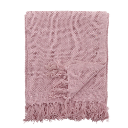 Bloomingville Tagesdecke, rosa,  Baumwolle