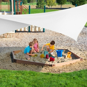 Wasserabweisend Sonnenschutz | in Weiß | Sonnensegel Sichtschutz Regenschutz PES