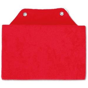 Bestlivings Reisekissen, Badewannenkissen, Nackenkissen in 16x25cm, Kissen für die Badewanne rot