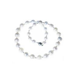 Bella Carina Perlenkette Barock Perlen, mit echten Perlen