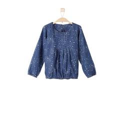 s.Oliver Girls Jeansbluse blue melange
