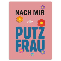 Kunstdruck PUTZFRAU(BH 40x50 cm)