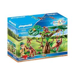 Playmobil® Spielfigur PLAYMOBIL® 70345 Orang Utans im Baum