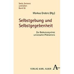 Selbstgebung und Selbstgegebenheit - Buch