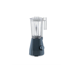 Alessi Standmixer Standmixer Plissé - Farbwahl, EU Stecker, Elektrische Leistung 700 Watt grau
