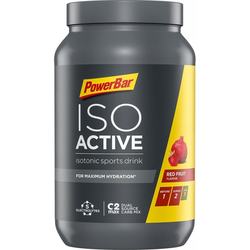 PowerBar IsoActive Sportgetränk, 1320 g Dose (Geschmack: Lemon Lime)