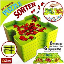 Trefl 90816 - Puzzle-Sortierer, Puzzle Sorter, 6-teilig