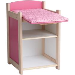JAKO-O Puppen-Wickeltisch, rosa - rosa